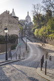 The Montmartre Area with the Sacre Coeur Basilica in the Background  Paris  France  Europe