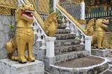Cemetery in Wat Leu Temple  Sihanoukville Port  Sihanouk Province  Cambodia  Indochina