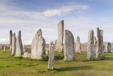 The Callanish Stones on the Isle of Lewis  Outer Hebrides  Scotland  United Kingdom  Europe