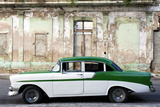 Vintage American Car Parked on a Street in Havana Centro  Havana  Cuba