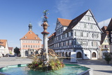 Marketplace  Town Hall  Fountain and Palmsche Apotheke Pharmacy