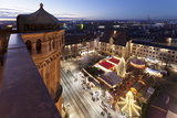 View from Kilianskirche Church of Christmas Fair in the Marketplace