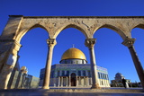 The Dome of the Rock  Temple Mount  UNESCO World Heritage Site  Jerusalem  Israel  Middle East