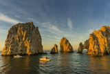 Sunrise with Fishing Boats at Land's End  Cabo San Lucas  Baja California Sur