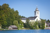 Parish Church  St Wolfgang  Wolfgangsee Lake  Flachgau  Salzburg  Upper Austria  Austria  Europe