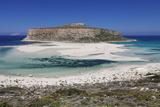 Balos Bay  Gramvousa Peninsula  Crete  Greek Islands  Greece  Europe