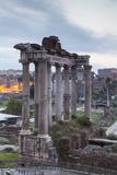The Roman Forum (Foro Romano)  Rome  Lazio  Italy  Europe