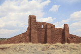 Ruins of Church  Abo  Salinas Pueblo Missions National Monument  Salinas Valley  New Mexico  Usa