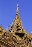 Shwedagon Pagoda  Yangon (Rangoon)  Myanmar (Burma)  Asia