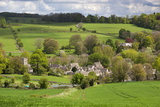 Upper Slaughter  Cotswolds  Gloucestershire  England  United Kingdom  Europe