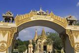 Gateway to Shwedagon Pagoda  Yangon (Rangoon)  Myanmar (Burma)  Asia