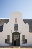Dutch Colonial White Building at Groot Constantia Winery Estate