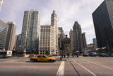 Wrigley Building by the Chicago River  Chicago  Illinois  United States of America  North America