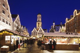Christmas Fair  Market Square  Martinskirche Church