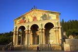Basilica of the Agony  Garden of Gethsemane  Jerusalem  Israel  Middle East