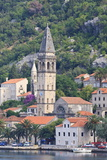 Churches of Our Lady of the Rosary and St Nicholas  Early Morning  Perast