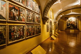 The Pinacoteca at Santo Domingo Church at the Qorikancha  Cuzco  Peru  South America