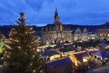 Christmas Fair  Town Hall and Market Place  Schwaebisch Hall