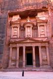The Treasury  Petra  UNESCO World Heritage Site  Jordan  Middle East