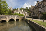 Cotswold Cottages on by Brook  Castle Combe  Cotswolds  Wiltshire  England  United Kingdom  Europe