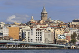 Galata Tower  Istanbul  Turkey  Europe