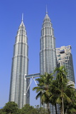 Petronas Towers  Kuala Lumpur  Malaysia  Southeast Asia  Asia
