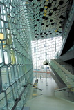 Interior of the Harpa Concert Hall  Reykjavik  Iceland  Polar Regions