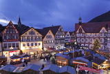 Christmas Fair  Bad Urach  Swabian Alb  Baden Wurttemberg  Germany  Europe