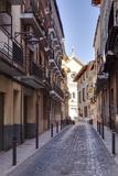The Narrow Streets of Xativa  Valencia  Spain  Europe
