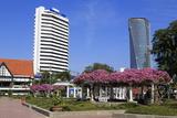 Medeka Square and Skyscrapers  Kuala Lumpur  Malaysia  Southeast Asia  Asia