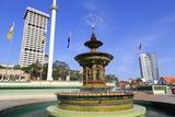 Merdeka Square Fountain  Kuala Lumpur  Malaysia  Southeast Asia  Asia