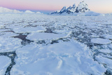 Transiting the Lemaire Channel in Heavy First Year Sea Ice  Antarctica  Polar Regions