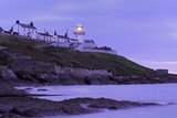 Roches Point Lighthouse  Whitegate Village  County Cork  Munster  Republic of Ireland  Europe