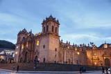 The Cathedral in Plaza De Armas  Cuzco  UNESCO World Heritage Site  Peru  South America