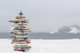 Bellingshausen (Russian) or Frei (Chilean) Base  South Shetland Island Group  Antarctica
