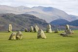 Castlerigg Stone Circle  Keswick  Lake District National Park  Cumbria  England