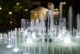 Ivan Vasov  National Theatre  City Garden Park  Sofia  Bulgaria  Europe