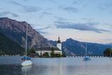 Picturesque Schloss Ort  Lake Traunsee  Gmunden  Salzkammergut  Upper Austria  Austria  Europe