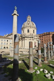 Trajan's Column and Forum  Forum Area  Rome  Lazio  Italy  Europe