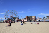 Beach  Coney Island  Brooklyn  New York City  United States of America  North America