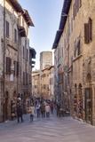 The Historic Centre of San Gimignano  UNESCO World Heritage Site  Tuscany  Italy  Europe