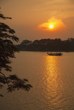 Perfume River (Huong River) at Sunset  Hue  Thua Thien-Hue  Vietnam  Indochina