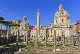 Trajan's Column and Forum  Forum Area  Rome  Lazio  Italy  Europe