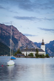 Picturesque Schloss Ort  Lake Traunsee  Gmunden  Salzkammergut  Upper Austria  Austria  Europe