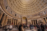 The Pantheon in Rome  Lazio  Italy  Europe