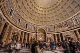 The Pantheon in Rome  Lazio  Italy  Europe