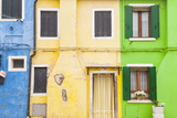 A Colorful Houses on Burano  Venice  Veneto  Italy  Europe