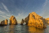 Sunrise at Land's End  Cabo San Lucas  Baja California Sur