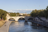 Ponte Cestio over the River Tiber  Rome  Lazio  Italy  Europe