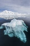 Glacial Ice Floating in the Neumayer Channel Near Wiencke Island  Antarctica  Polar Regions